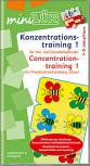 miniLÜK - Concentration training, german/english
