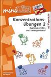miniLÜK - Konzentrationsübungen 2, ab Vorschule