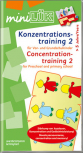miniLÜK - Concentration training 2, German/English